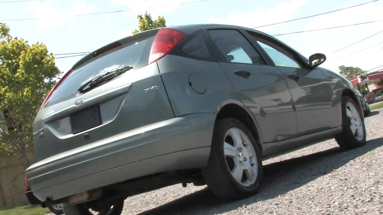 focus 2005 ford zx5 hatchback ses 4d