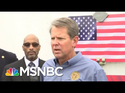 Georgia Governor Offended That Racist Anti-Voter Law Is Being Called Racist | All In | MSNBC