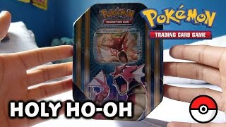 Holy Ho-Oh - Opening A Pokemon Shiny EX Gyarados Tin