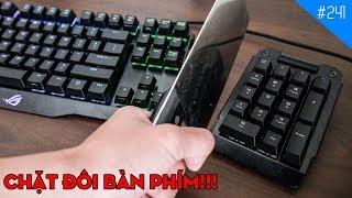 Trên tay bàn phím cơ siêu đắt Asus ROG Claymore: Quá Đắt, Quá Ngon, Quá Tiện!
