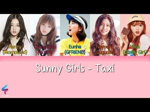 Sunny Girls - Taxi [Legendado PT-BR   HAN   ROM] Lyrics Color Coded