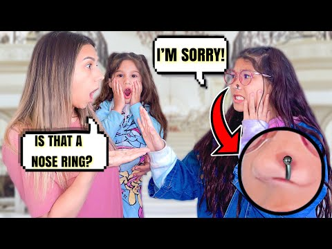 I GOT A NOSE RING!! **GONE WRONG** | Familia Diamond: