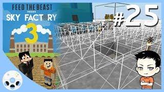 เครื่องมือใหม่ กับการเตรียมพื้นที่ทำโรงไฟฟ้า - มายคราฟ Sky Factory 3 #25