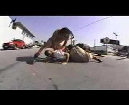 Barely Dead: skateboarding vs. rollerblading