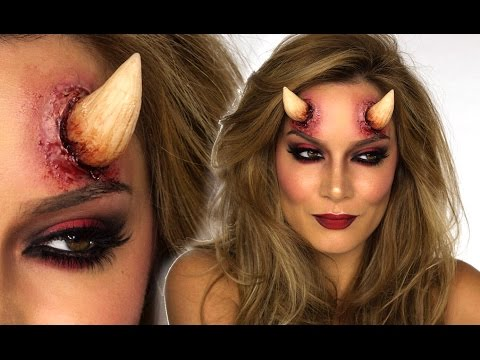 Sexy Devil Halloween MakeUp Tutorial | Shonagh Scott | ShowMe MakeUp