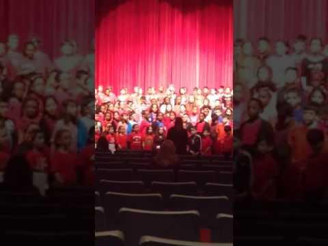 4th grade chorus day