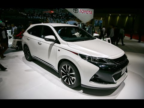 2017 Toyota Harrier G Sports  Exterior and Interior  2016 Tokyo