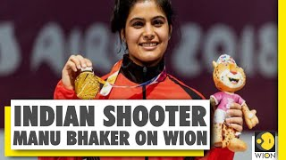 WION exclusive conversation with Indian shooter Manu Bhaker | Air pistol | 2019 ISSF World Cup