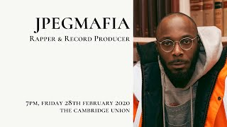 Jpegmafia | Interview | Cambridge Union (1/2)