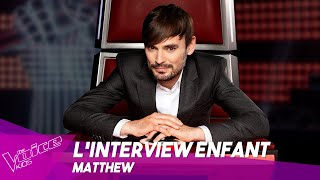 L'interview enfant des coachs ● Matthew | Bonus | The Voice Kids Belgique