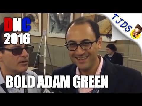 Adam Green At 2016 Democratic National Convention
