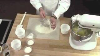 Gâteau blanc - mélangeur