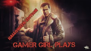 GAMER GIRL PLAYS DEAD BY DAYLIGHT SCARETOBER *BLACK HOLE ON HOLD* |Road To 1.1k Subs|