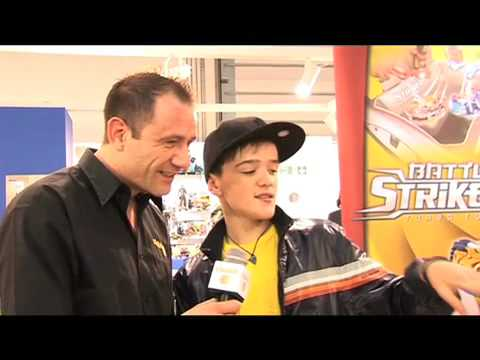 Clubit.tv George Sampson Interview  - London Toy Fair, 2009