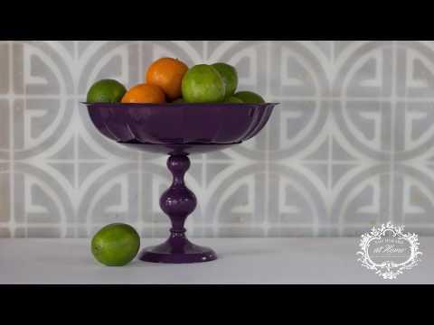 Lacquer Fruit Bowl