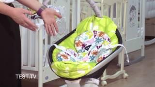 Качели-колыбельки - качает и убаюкивает электроника!(ТЕСТ.ТВ выбирает из трех вариантов электрокачелей для новорожденных: Graco Sweetpeace за ~8 тыс. руб., 4moms MamaRoo (Фомамс..., 2014-01-09T15:06:09.000Z)