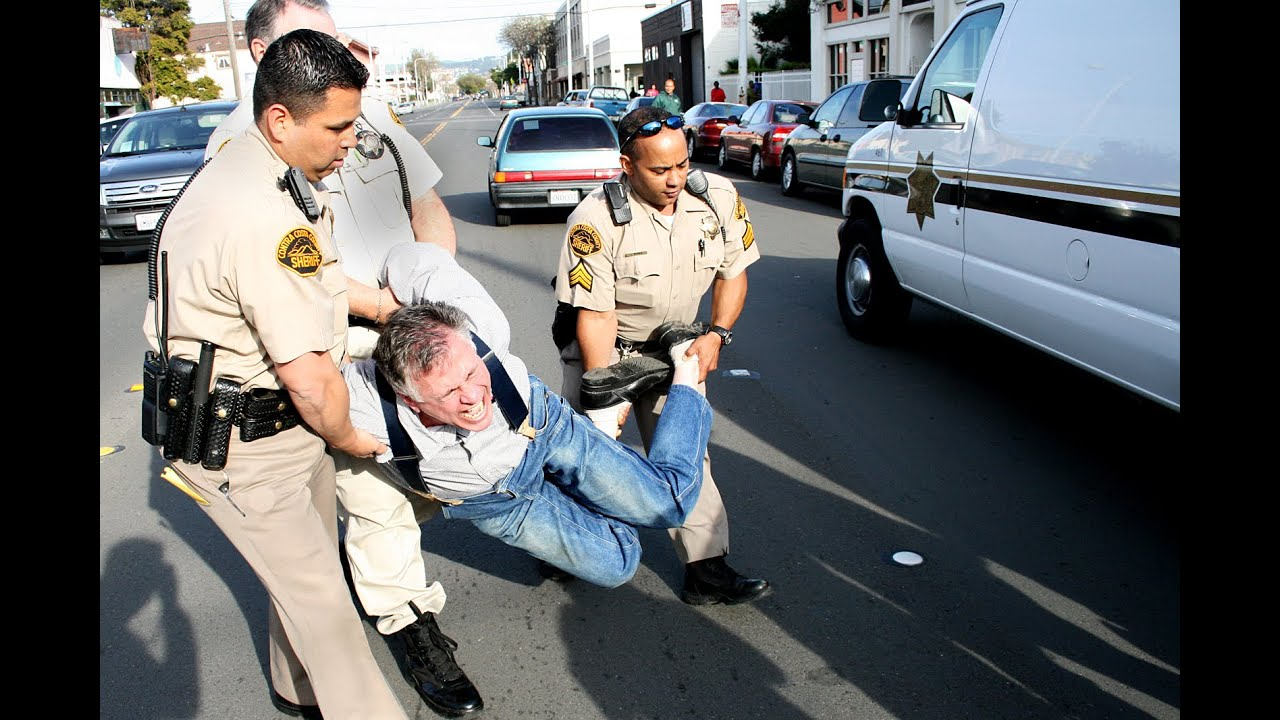 Black people getting arrested