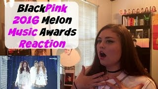 blackpink 2016 melon music awards reaction