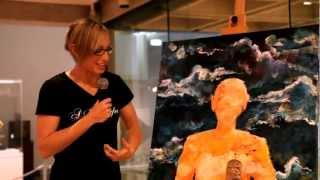 Performance Painter Sarah Rowan