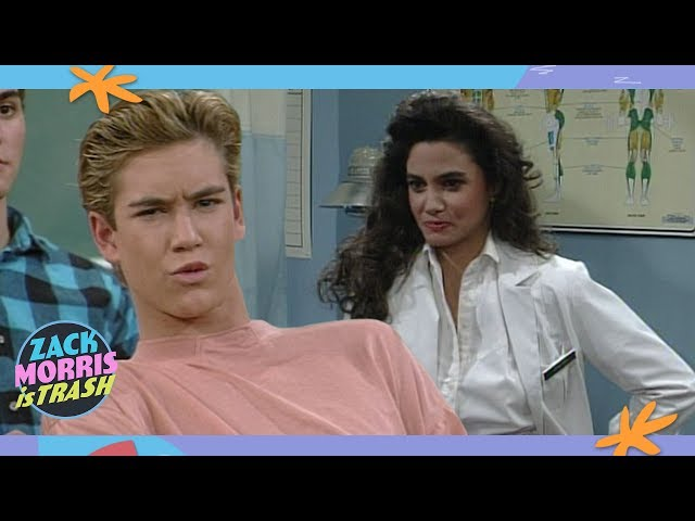 The Time Zack Morris Dumped His Girlfriend To Harass The School Nurse