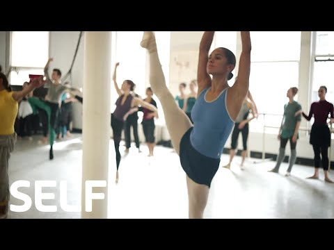 We Took A Ballet Class With Misty Copeland | Cover Shoots | SELF