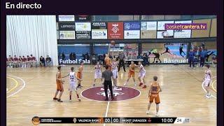U14M - VALENCIA BASKET vs BASKET ZARAGOZA. I Copa Infantil Sant Vicenç de Montalt (BasketCantera.TV)