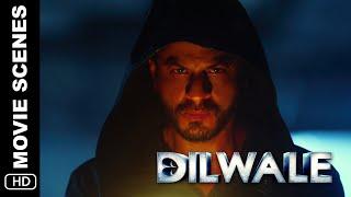 Kaali's Introduction |  Dilwale | Action Scene | Shah Rukh Khan, Kajol