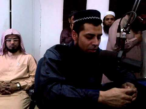 Qari Ziyaad Patel reciting Radio Voz do Islam - Maputo 2012