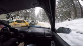 Онборд с ралли-спринта пос. Сярьги Александров/Герасимов