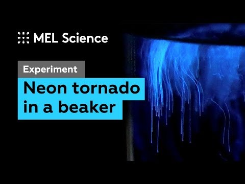 How To Make A Light Tornado (Experiment With Luminol)