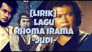 [lirik] lagu rhoma irama -judi-