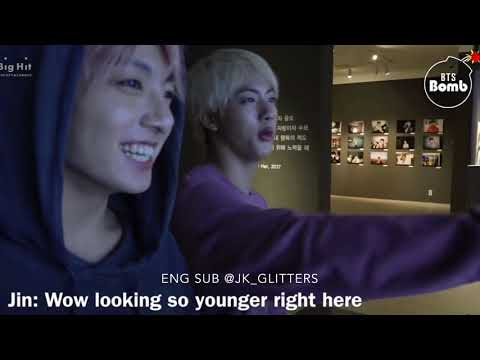 [ENG SUB] BTS EXHIBITION 24/7 SERENDIPITY..BTS AT 오.늘 exhibition