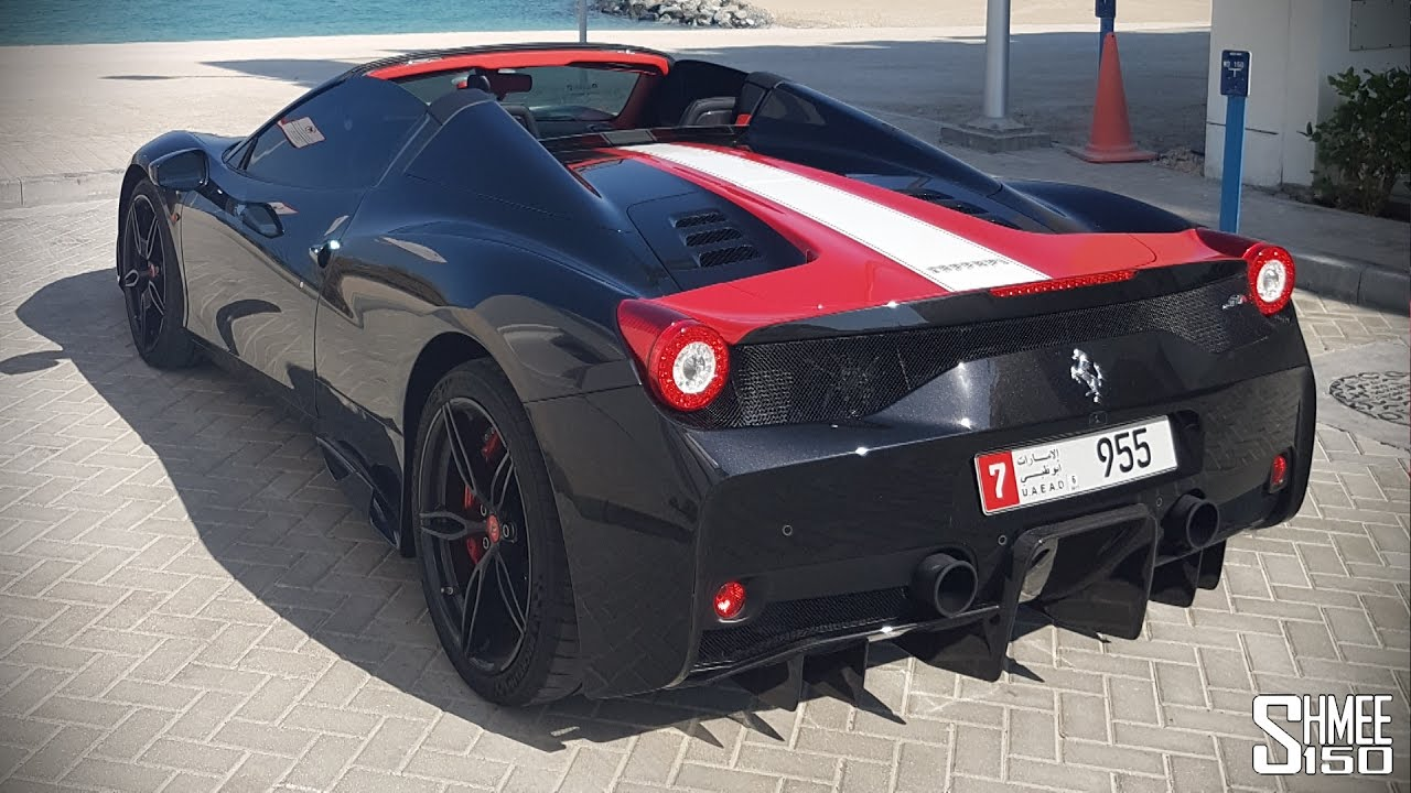 Is The 458 Speciale Aperta The Last Real V8 Ferrari Youtube