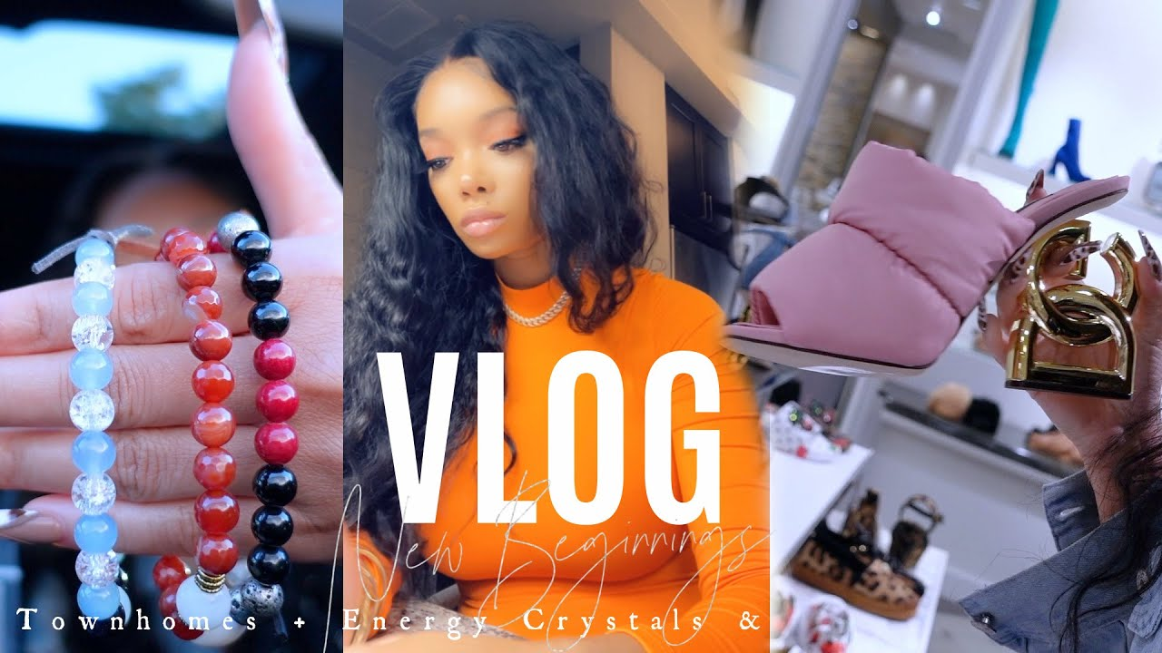 Download WEEKLY VLOG   Townhome Shopping + Zara Haul + Energy Bracelets   Peyton Charles
