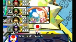 Mario Party 4 Story Mode: Toad's Midway Madness