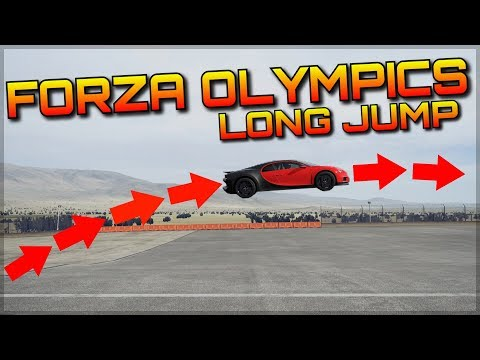 2018 FORZA OLYMPICS | 1st Event | Long Jump Finals