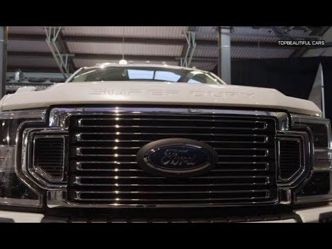 2020 Ford F Series Super Duty Interior Exterior and Drive