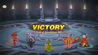 summoners war toa 40 hard seara oracle wind and basic team for toa