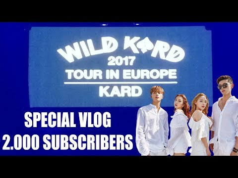 [SPECIAL VLOG 2.000 SUBSCRIBERS] WILD KARD 2017 TOUR IN EUROPE, MADRID