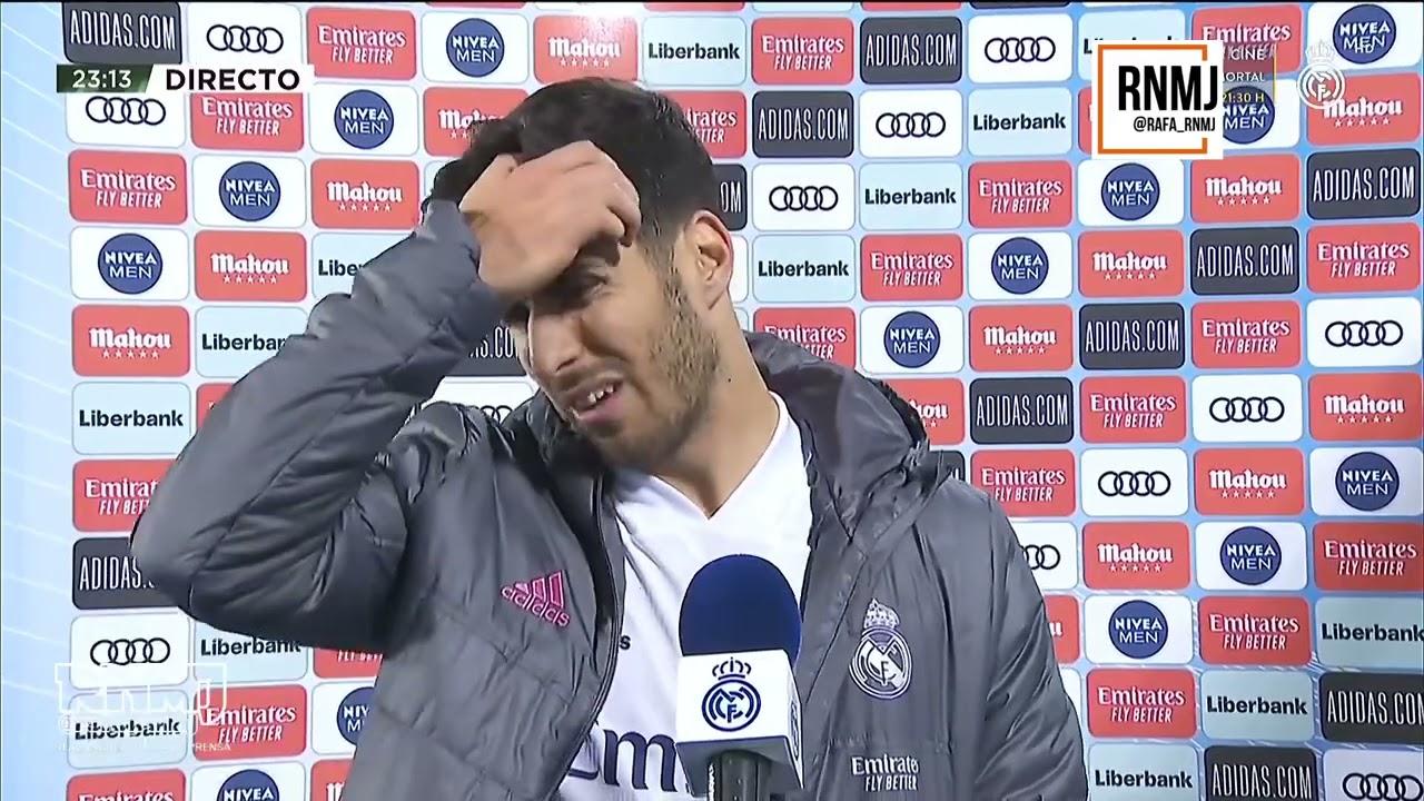 Declaraciones de MARCO ASENSIO a RMTV post Real Madrid 2-2 Sevilla (09052021)