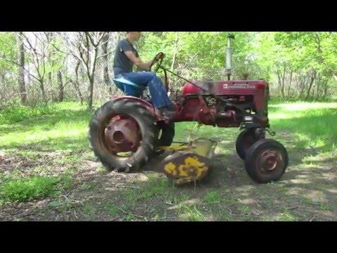 farmall cub flail mower
