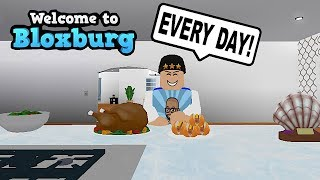 MY DAILY BLOXBURG ROUTINE AND HOUSE TOUR! ROBLOX | FAMBAM GAMING