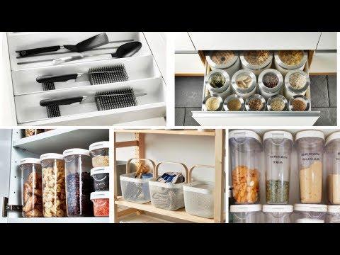 17 Brilliant IKEA Kitchen Organization Ideas