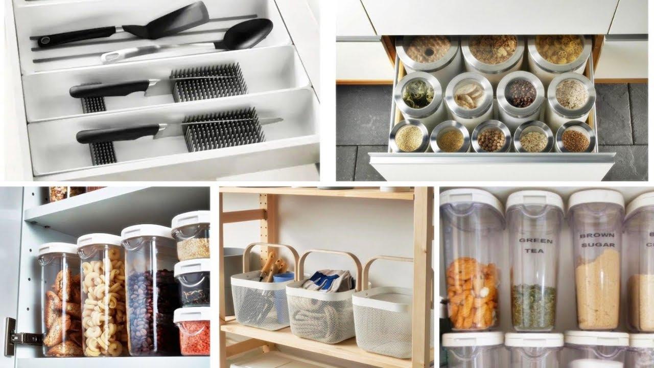 Kitchen Storage Ideas Youtube Ikea Kitchen Organization Ikea Kitchen Kitchen Organization
