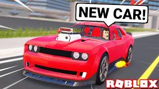 New Dodge Challenger Hellcat is Insane in Vehicle Legends Update! (Roblox)