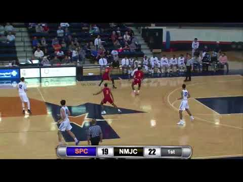 South Plains vs. New Mexico Junior College men's basketball highlights - Feb. 15, 2018 - Texan Dome