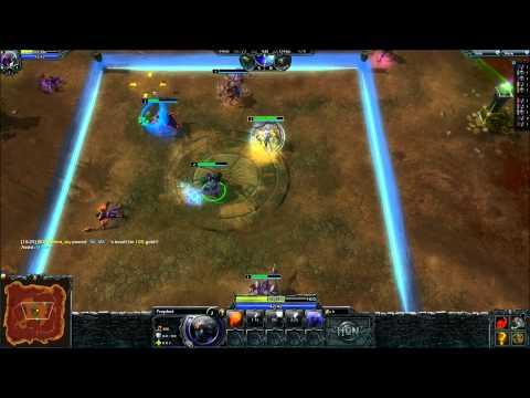 HoN  Prophets WC3 Warlocks gameplay