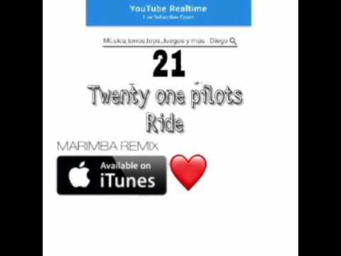 Twenty One Pilots Ride (marimba Remix)