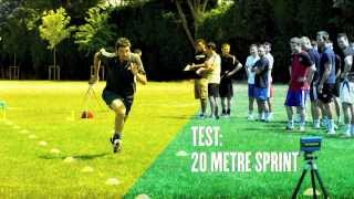 raise your game   the 20 metre sprint   soccer training