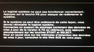 probleme demarrage ps3  besoin d aide